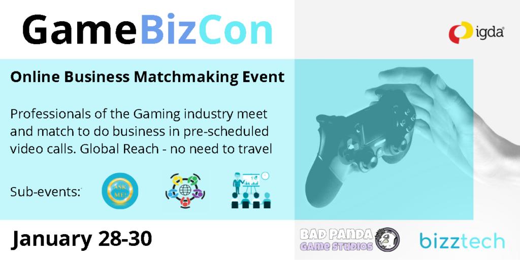 Banner GameBizCon Game-Consultant.com